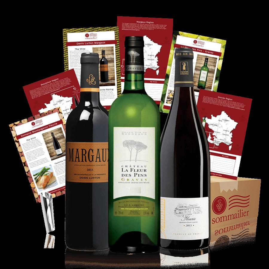C'est La Vie - 3 bottle shipment of French wines
