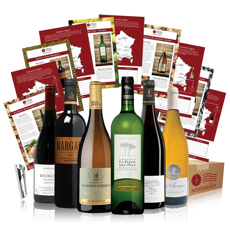 Rendez-Vous - 6 Bottles of Small-Batch French Wine