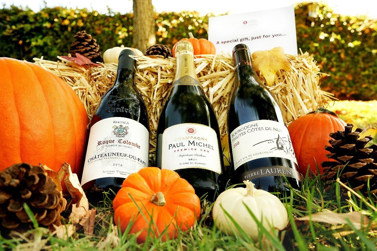 somMailier Thanksgiving Wine Package - 2 Red Wines & 1 Champagne