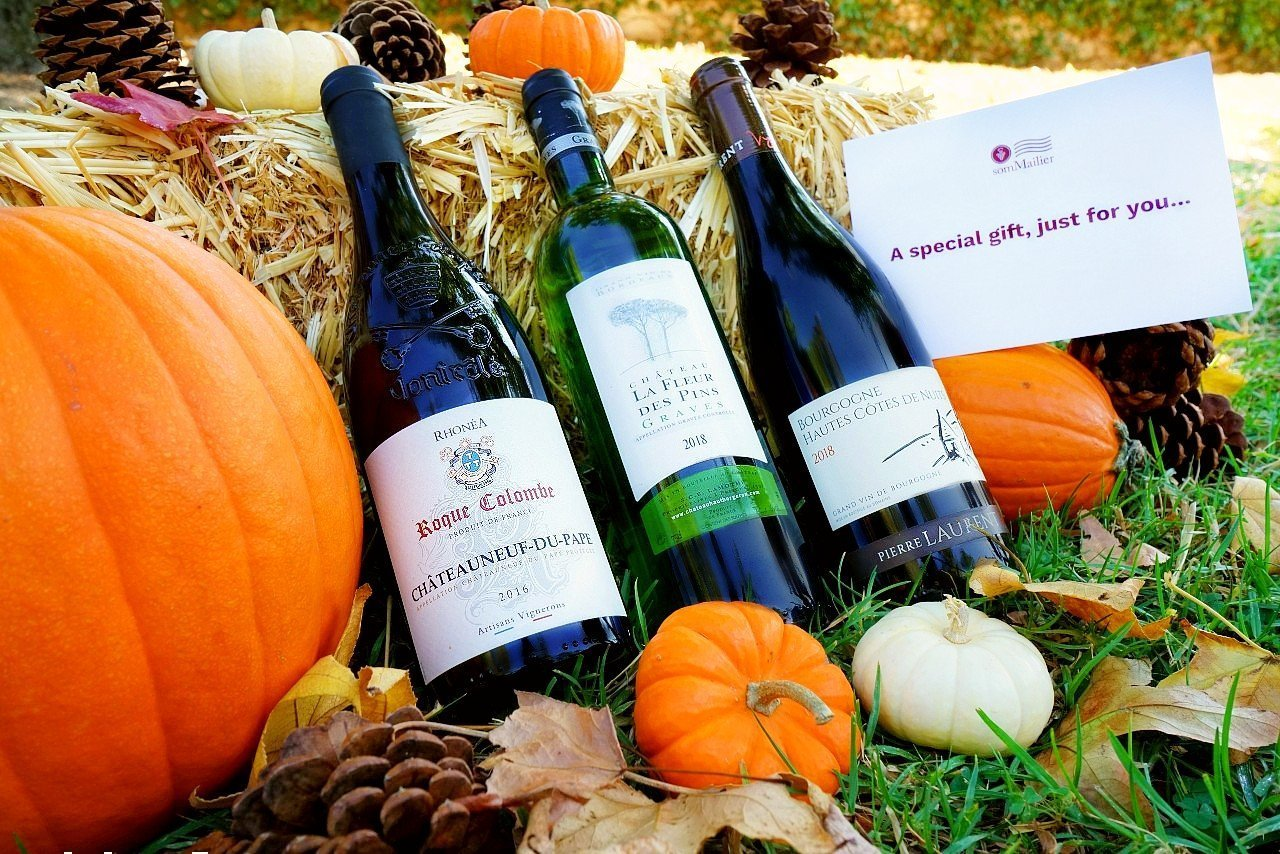 somMailier Thanksgiving Wine Package - 2 Red Wines & 1 White Wine