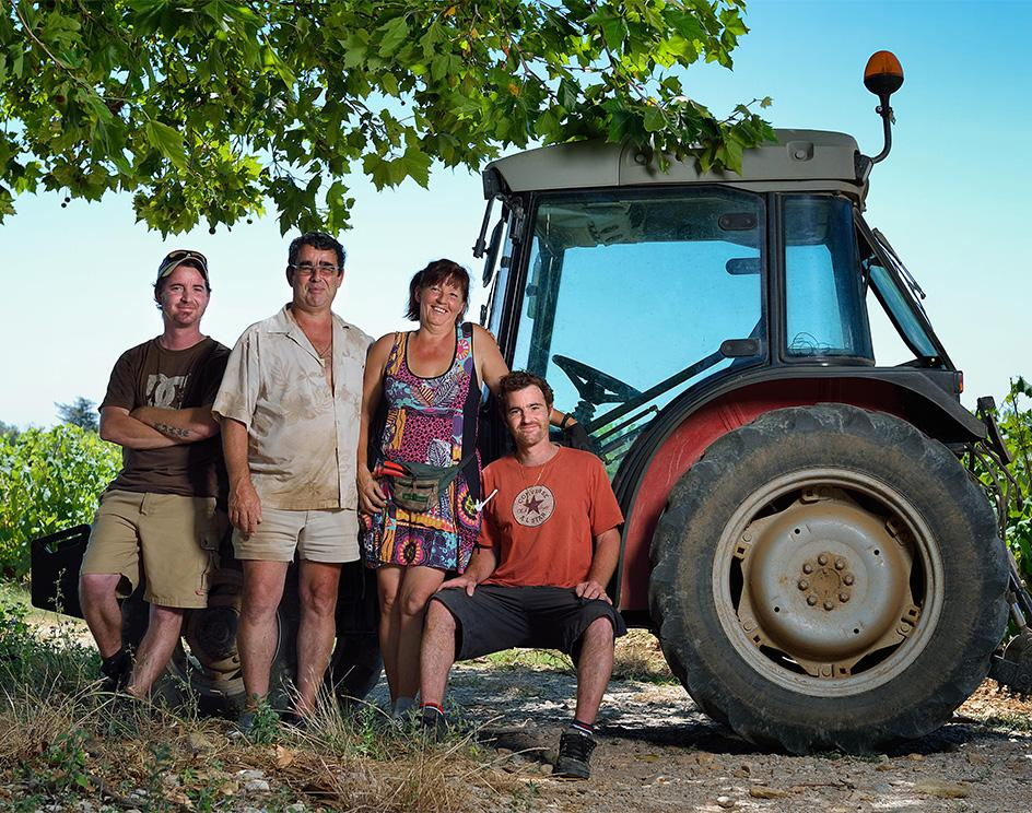 Chateauneuf-du-Pape Wine-Making Family in Rhone, France