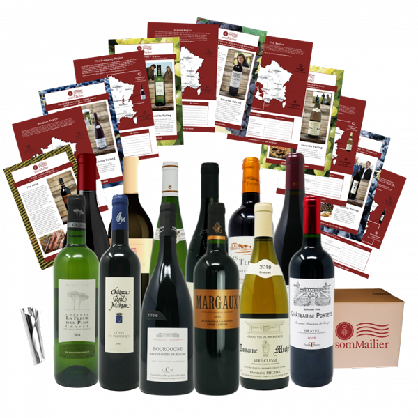 Et Voila 12 Bottles of French Wine per shipment