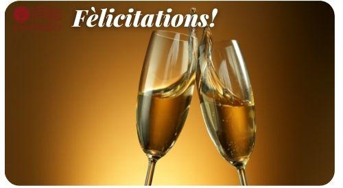Congratulations Wine Gift Card