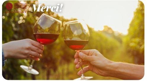 Merci (Thank You) - French Wine E-Gift Card