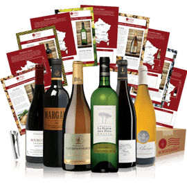 French Wine Club 6 Bottle Delivery Service